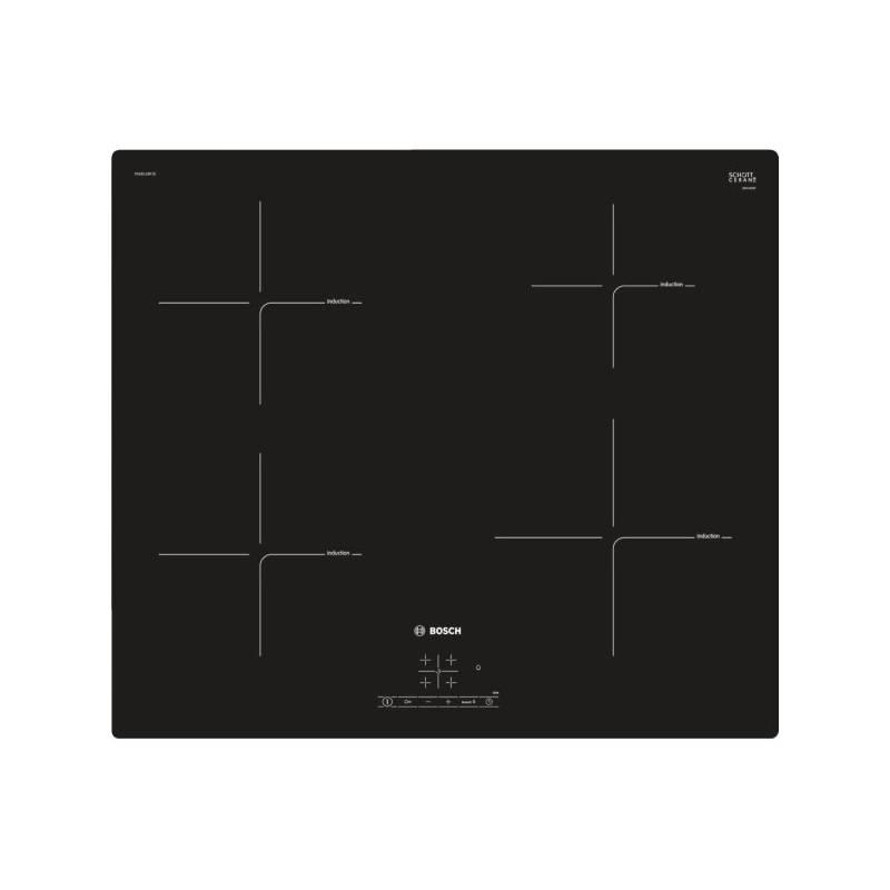 Indukčná varná doska Bosch PUE611BF1E čierna + Doprava zadarmo