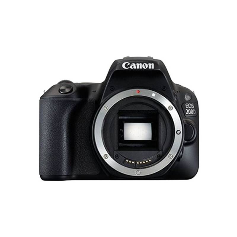 Digitálny fotoaparát Canon EOS 200D (2250C001) čierny