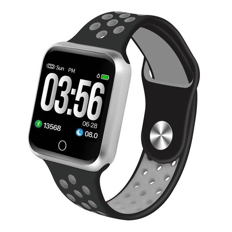 Chytré hodinky IMMAX SW10 (09015) černé/stříbrné