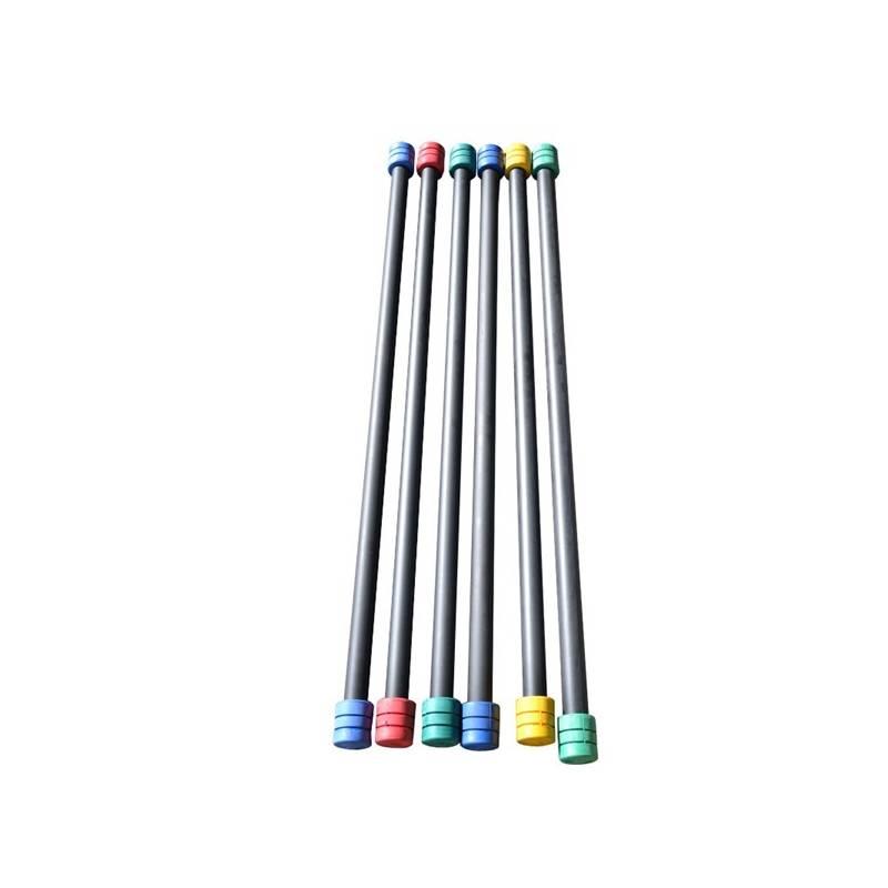 Aerobic tyč Master 2 kg červená/modrá/žltá/zelená