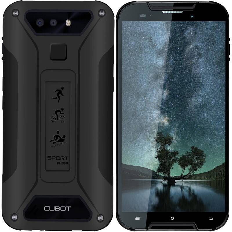 Mobilný telefón CUBOT Quest Lite (PH4131) čierny + Doprava zadarmo