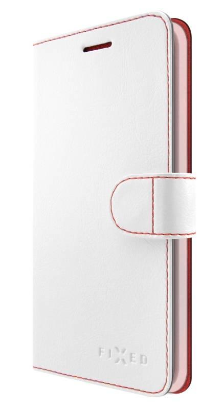 Puzdro na mobil flipové FIXED FIT pro Honor 10 (FIXFIT-310-WH) biele