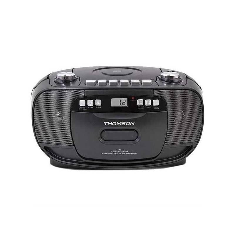 Radiomagnetofon s CD Thomson RK200CD černý