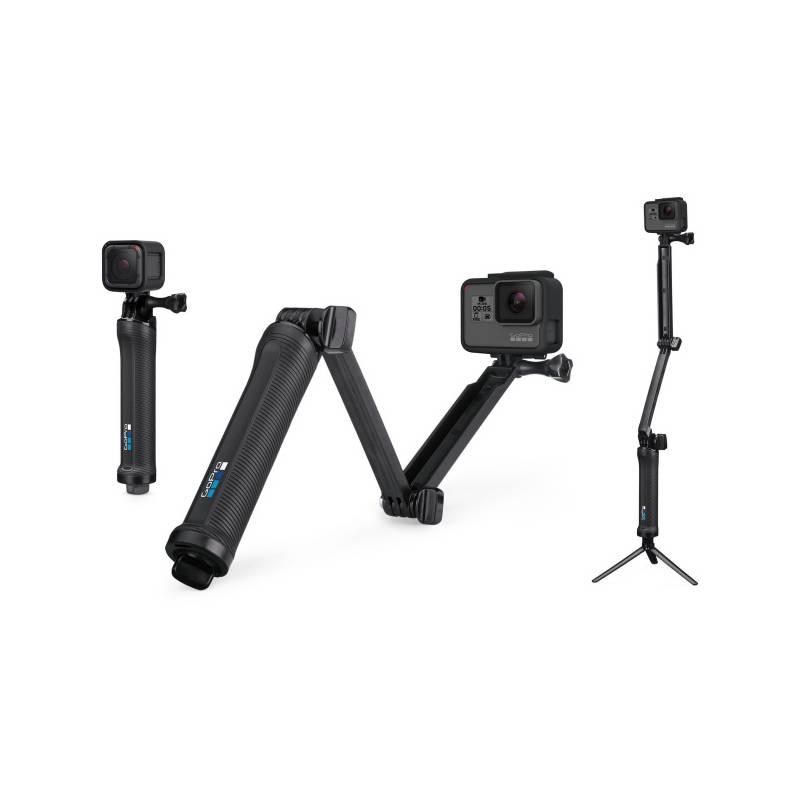 Selfie tyč GoPro 3-Way™ (AFAEM-001) čierny