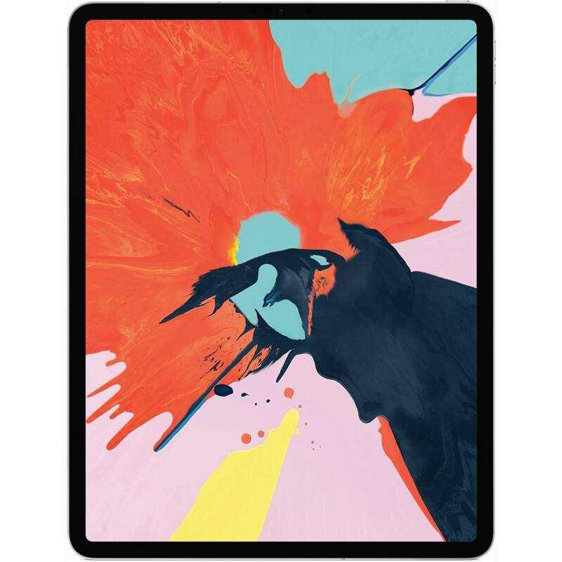 "Dotykový tablet Apple iPad Pro 12.9"" (2018) Wi-Fi + Cell 64 GB - Silver (MTHP2FD/A)"