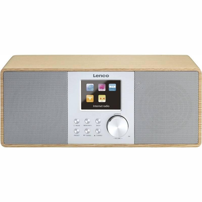 Internetový radiopřijímač Lenco DIR-200 dřevo
