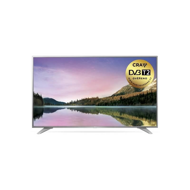 Televízor LG 65UH6507 strieborná/chróm + Doprava zadarmo