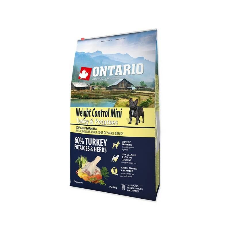 Granuly Ontario Mini Weight Control Turkey & Potatoes 6,5 kg