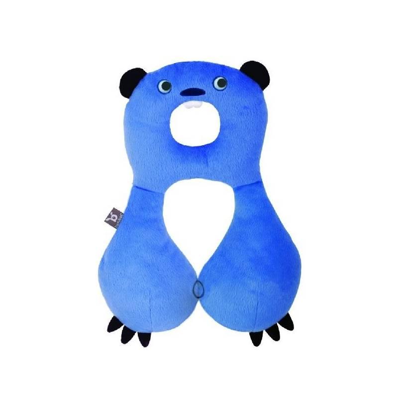 c07144f0a0e Dětský nákrčník s opěrkou hlavy BenBat 4-8 let - bobr modrý
