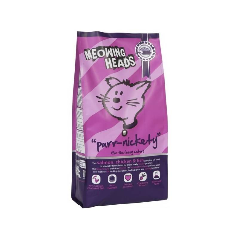 Granule Meowing Heads Purr-Nickety 1,5 kg