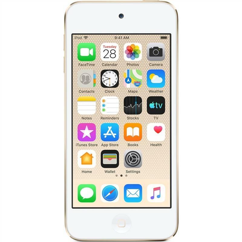 MP3 přehrávač Apple iPod touch 128GB (MVJ22HC/A) zlatý