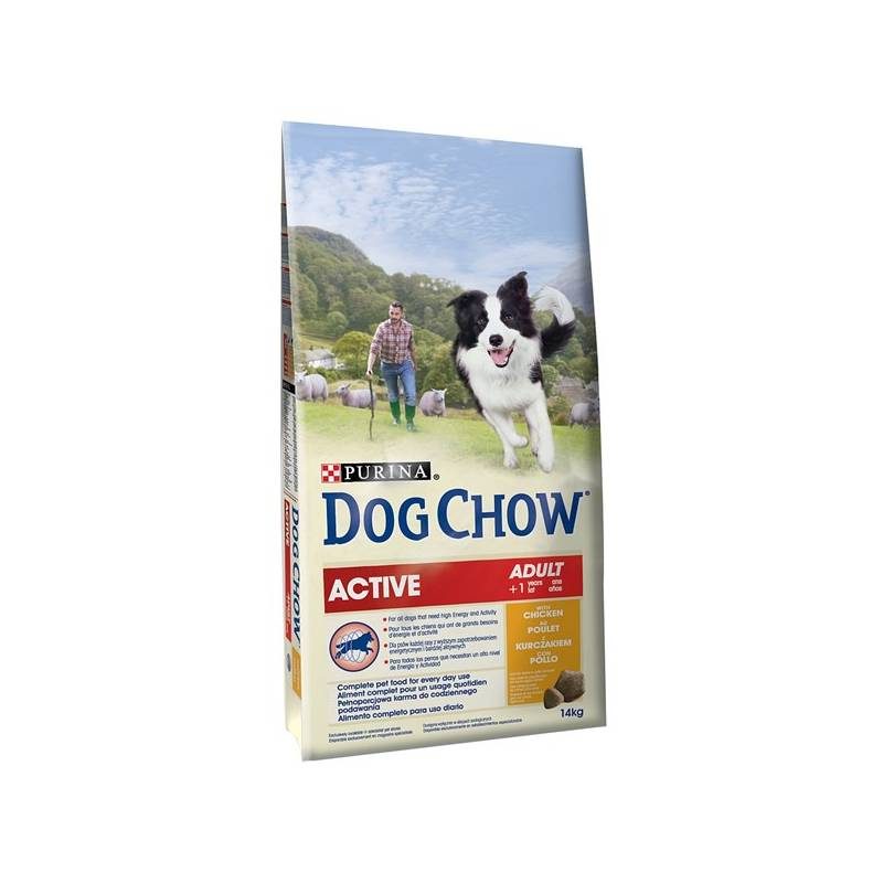 Granule Purina Dog Chow Active kuře 14 kg