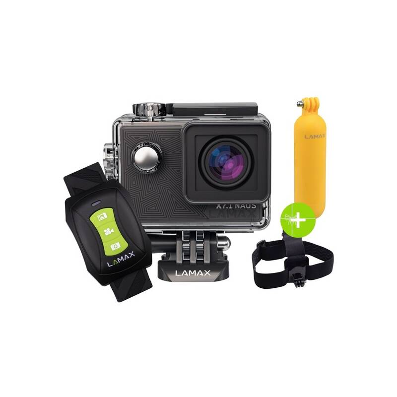 Outdoorová kamera LAMAX X7.1 Naos + dárek, čierna