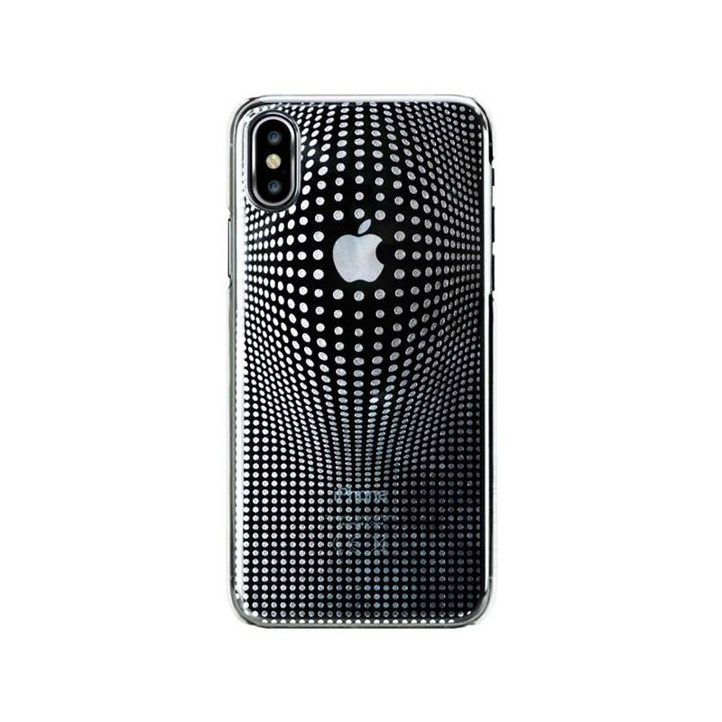 Kryt na mobil Bling My Thing Warp Deluxe Silver pro Apple iPhone X eb3a3544ead