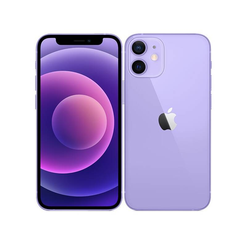 Mobilný telefón Apple iPhone 12 64 GB - Purple (MJNM3CN/A)