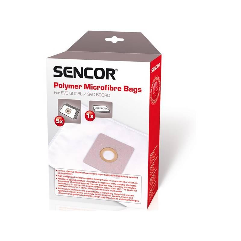 Sáčky pre vysávače Sencor SVC 600RD/BL