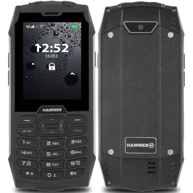 Mobilní telefon myPhone Hammer 4 Dual SIM (TELMYHHA4SI) stříbrný