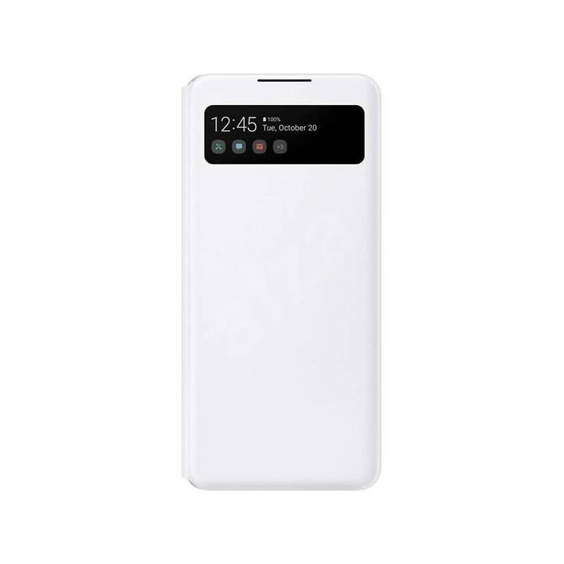 Púzdro na mobil flipové Samsung Smart S-View na Galaxy A42 5G (EF-EA426PWEGEE) biele