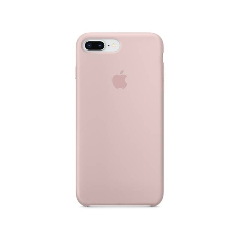 Kryt na mobil Apple Silicone Case pro iPhone 8 Plus / 7 Plus - pískově růžový (MQH22ZM/A)
