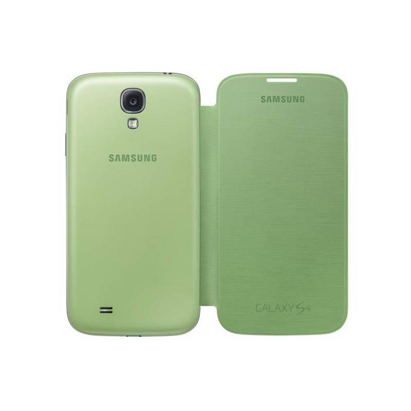Puzdro na mobil flipové Samsung pro Galaxy S4 (EF-FI950BGEG) (EF-FI950BGEGWW) zelené