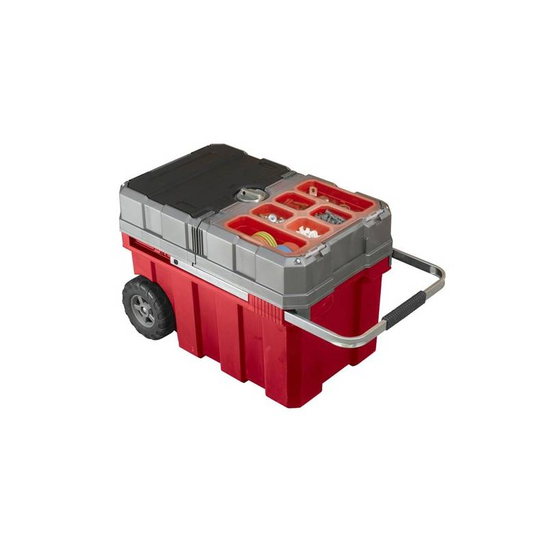 Box na náradie Keter Masterloader (17191709) sivý/červený
