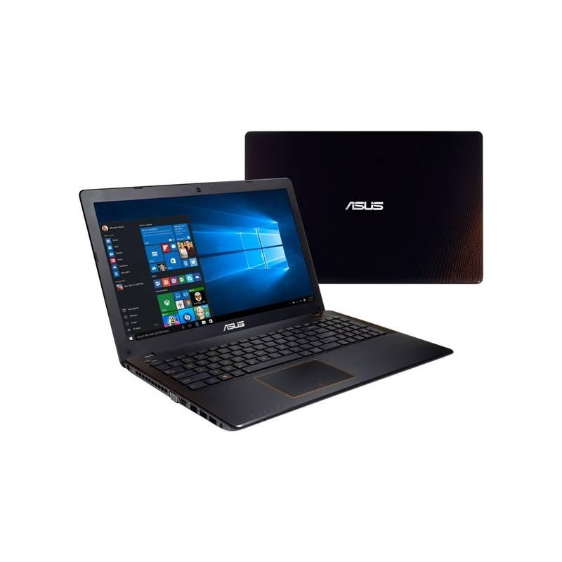 Notebook Asus F550VX-DM390T (F550VX-DM390T) čierny/oranžový Software F-Secure SAFE, 3 zařízení / 6 měsíců (zdarma) + Doprava zadarmo