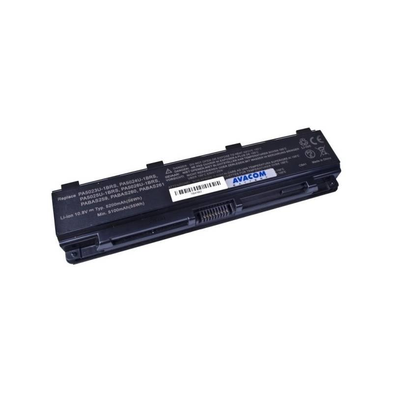 Batéria Avacom pro Toshiba Satellite L850 Li-Ion 10,8V 5200mAh (NOTO-L850B-806) čierna