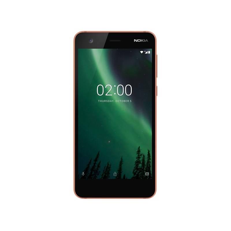 Mobilný telefón Nokia 2 Single SIM (11E1MM01A10) čierny/bronzový
