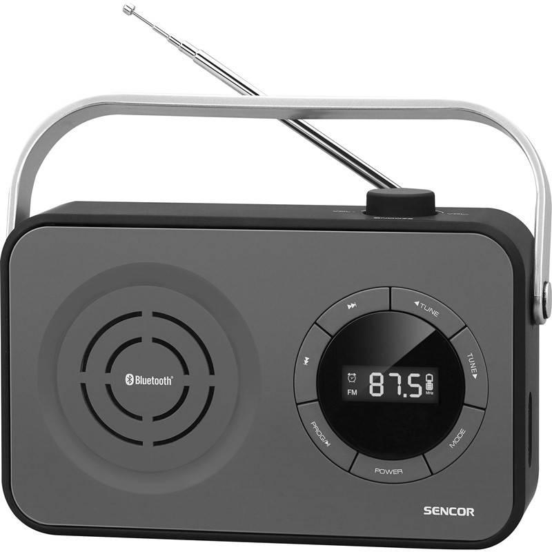 Radiopřijímač Sencor SRD 3200B černý