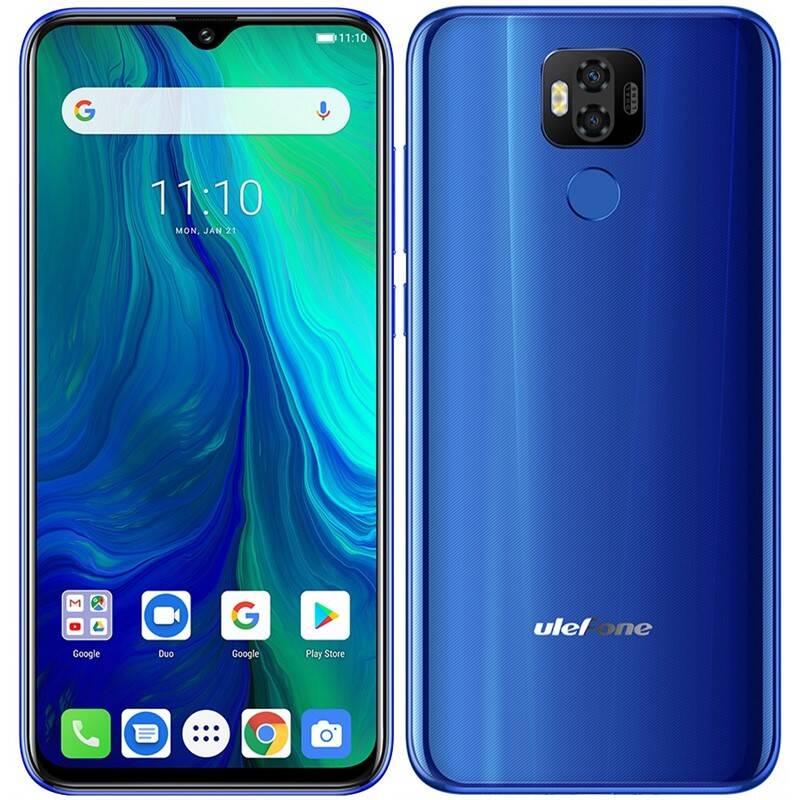 Mobilní telefon UleFone Power 6 (ULE000268) modrý