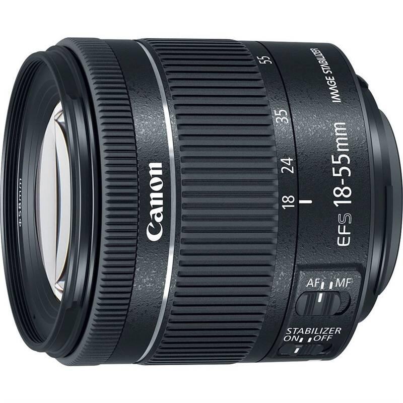 Objektív Canon EF-S 18-55 mm f/4-5.6 IS STM (1620C005) čierny + Doprava zadarmo