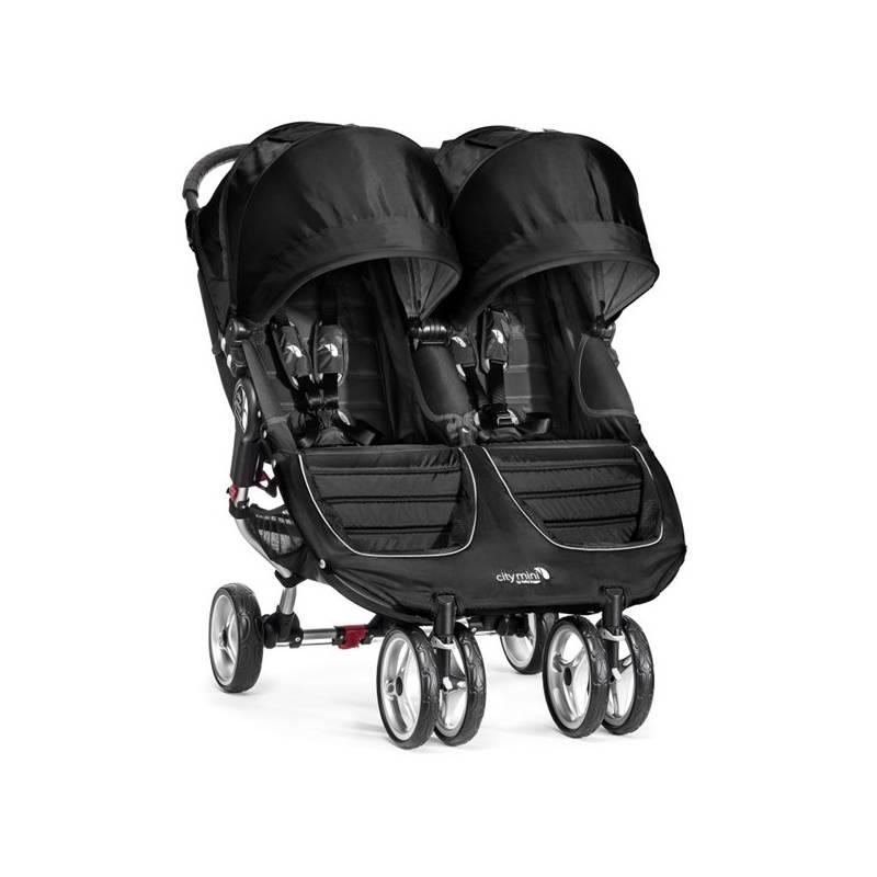 Kočík pre dvojičky Baby Jogger CITY MINI Double 2016 Black/Gray + Doprava zadarmo