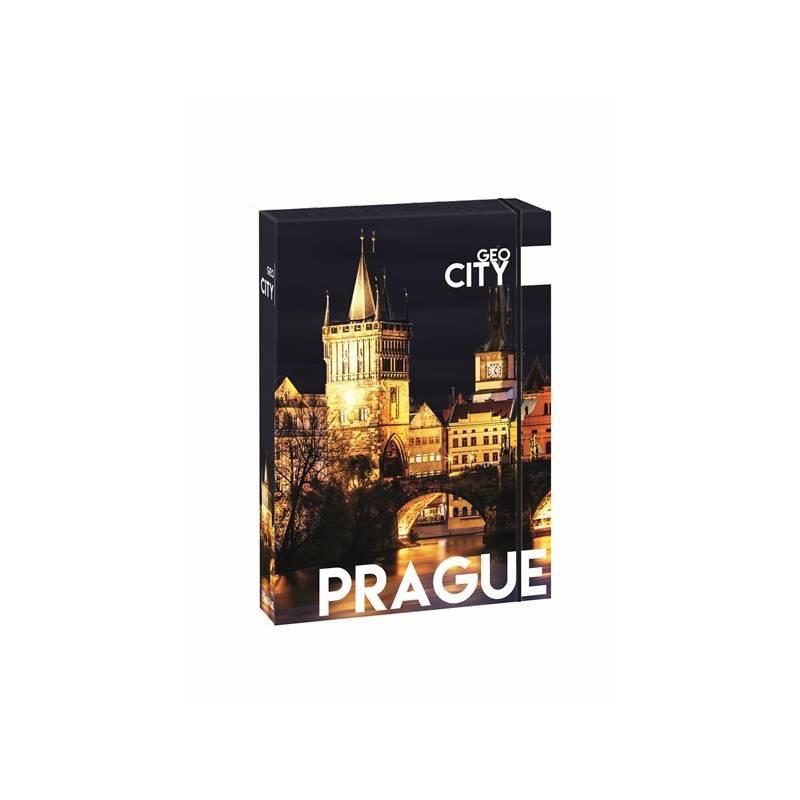 Dosky na zošity P + P Karton GEO CITY Prague A4 Jumbo