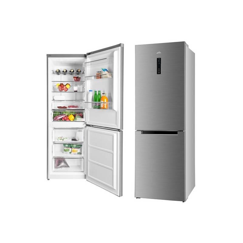 Kombinácia chladničky s mrazničkou ETA 136290010 nerez + Doprava zadarmo