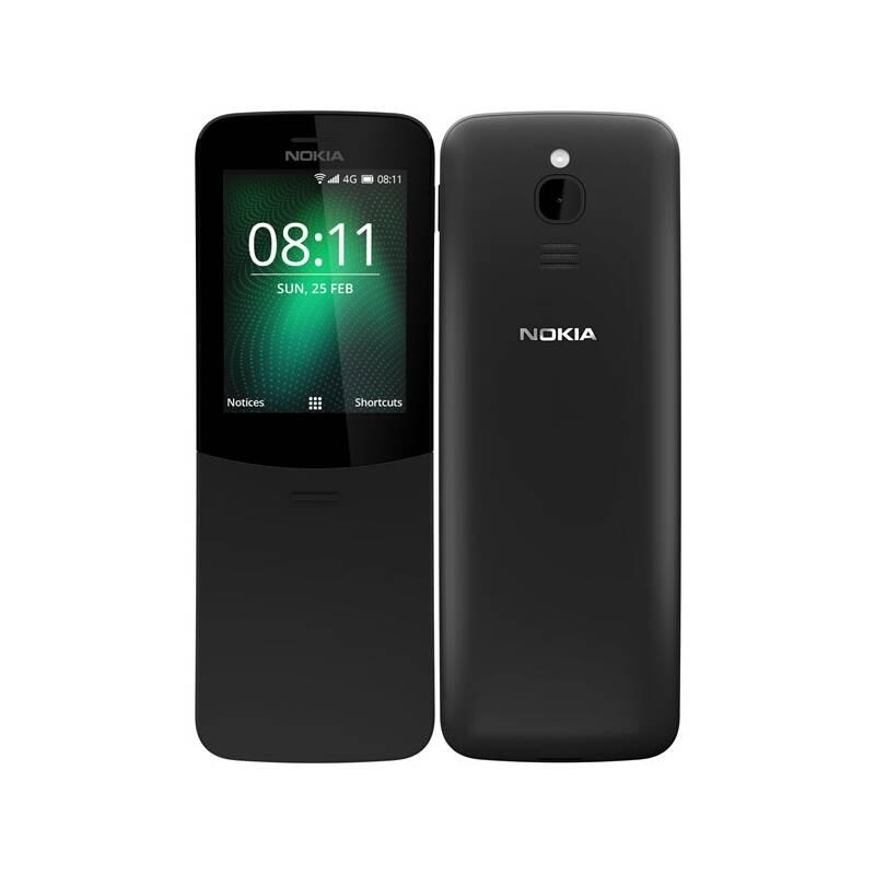 Mobilní telefon Nokia 8110 4G Dual SIM (16ARGB01A15) černý