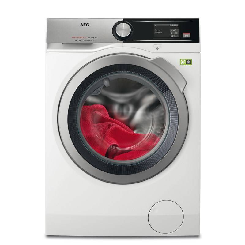 Automatická práčka AEG SoftWater L9FEA69S biela Čistič oken ETA Aquarelo 0262 90000 (zdarma) + Doprava zadarmo