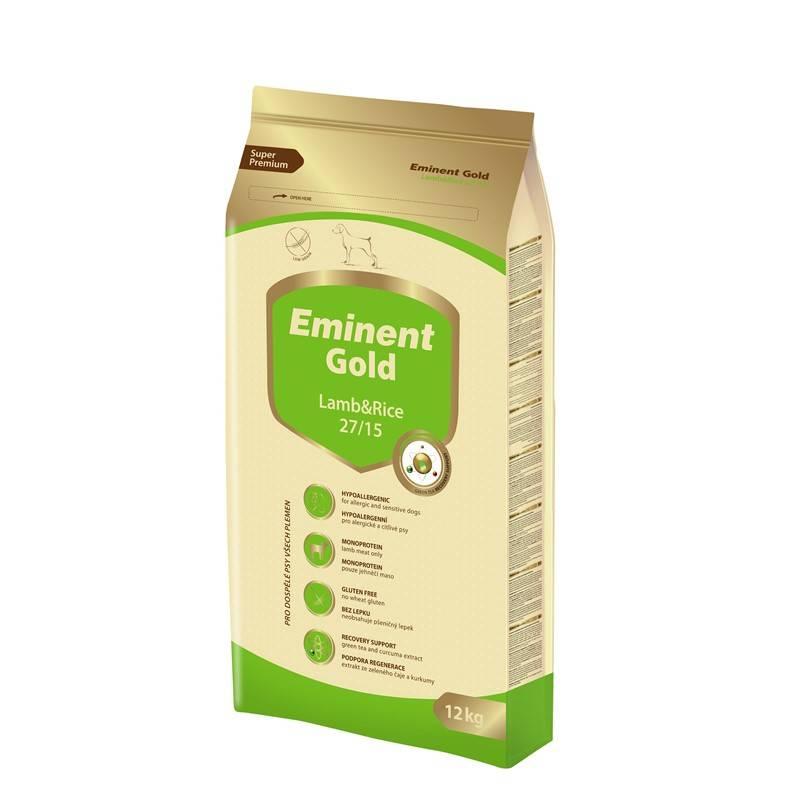 Granuly Eminent Gold Lamb&Rice 12 kg
