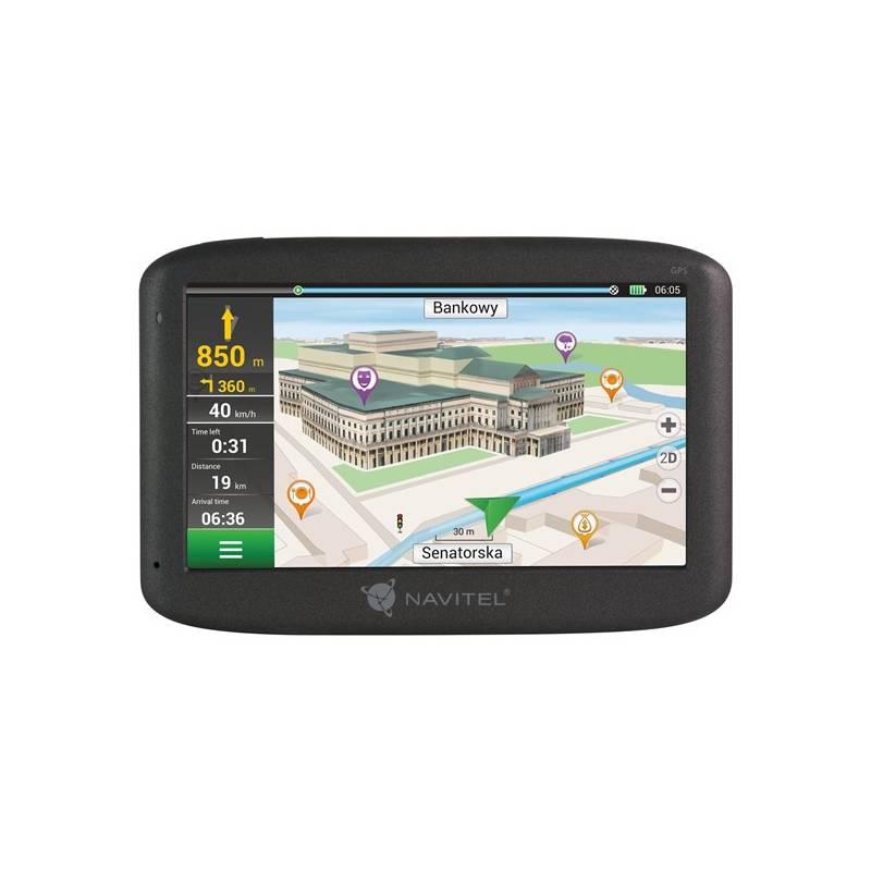 Navigačný systém GPS Navitel E500 (C2047023) čierna