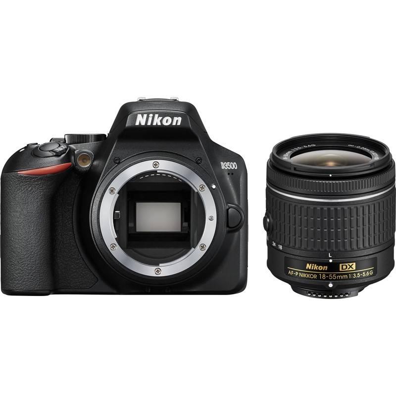 Digitálny fotoaparát Nikon D3500 + AF-P DX 18-55mm (VBA550K002) čierny + Doprava zadarmo