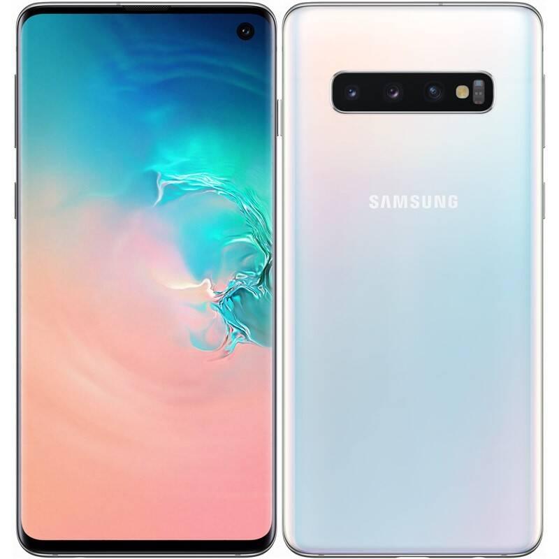 Mobilný telefón Samsung Galaxy S10 128 GB SK (SM-G973FZWDORX) biely