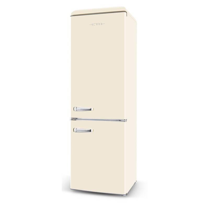 Kombinácia chladničky s mrazničkou ETA Storio 2530 90040E béžová + Doprava zadarmo