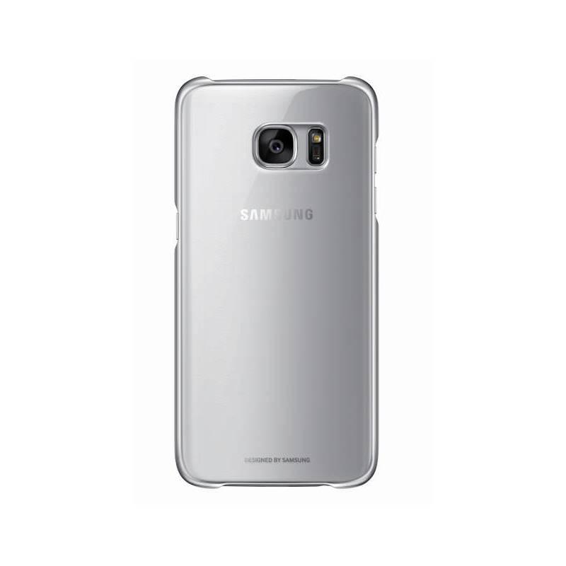 Kryt na mobil Samsung Clear Cover pro Galaxy S7 Edge (G935) (EF-QG935CSEGWW) strieborný