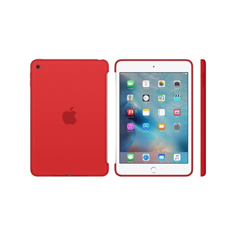 Kryt Apple Silicone Case pro iPad mini 4 - červené (MKLN2ZM/A)