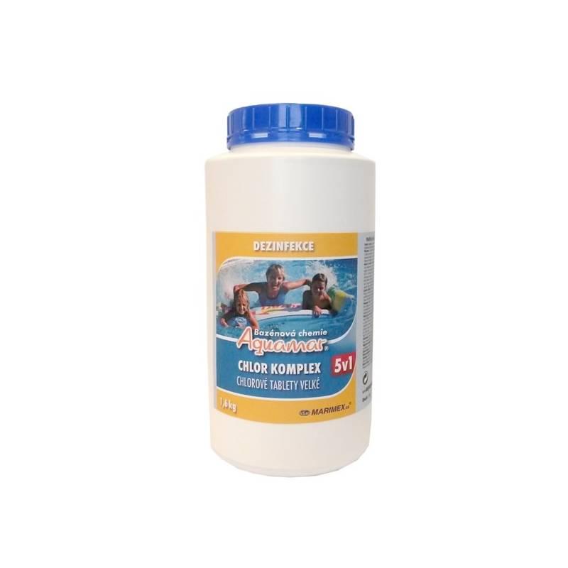 Bazénová chémia Marimex AquaMar Komplex 5v1 1,6 kg + Doprava zadarmo