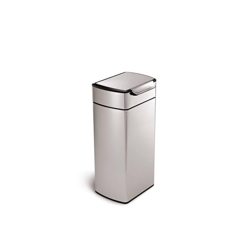 Odpadkový kôš Simplehuman Touch Bar 30 l (CW2015) strieborný Čistící přípravek na koupelny YOU 500 ml (zdarma) + Doprava zadarmo