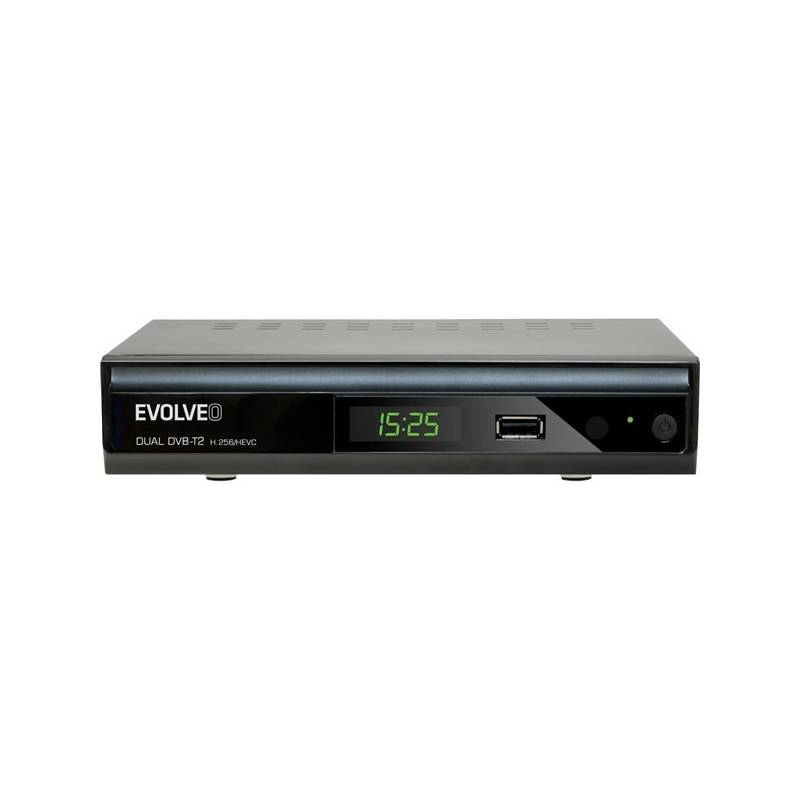 DVB-T2 prijímač Evolveo Gamma T2 čierny