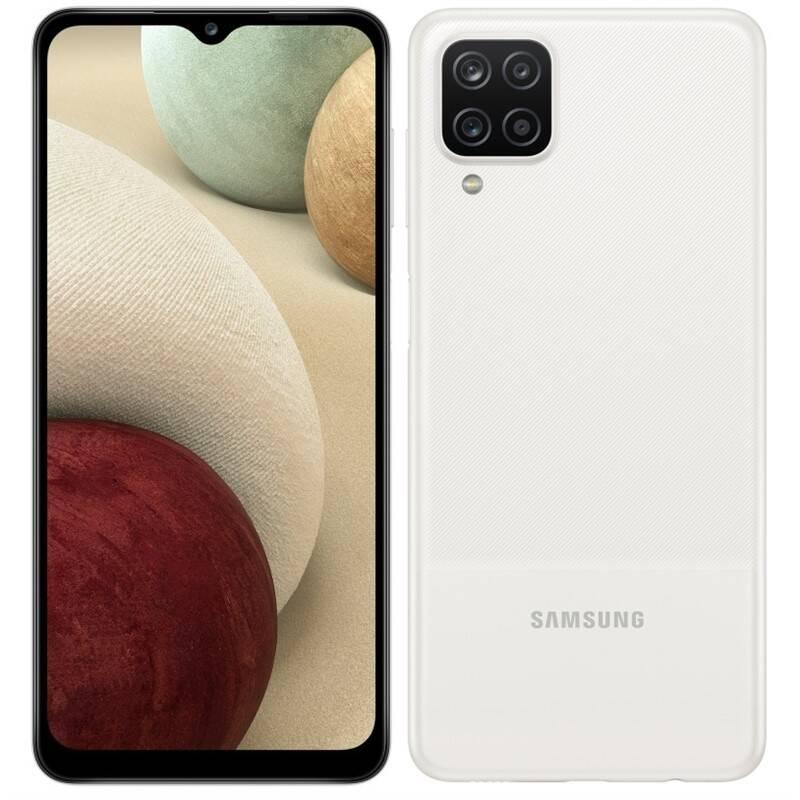 Mobilný telefón Samsung Galaxy A12 128 GB (SM-A127FZWKEUE) biely