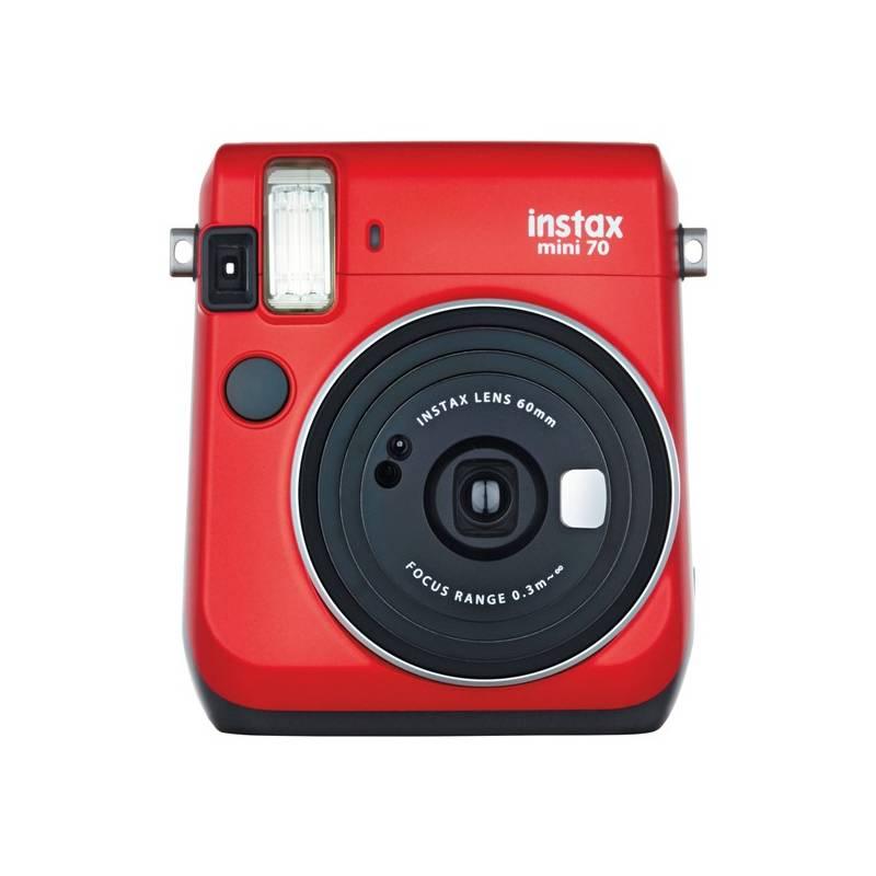 Digitálny fotoaparát Fujifilm Instax mini 70 červený