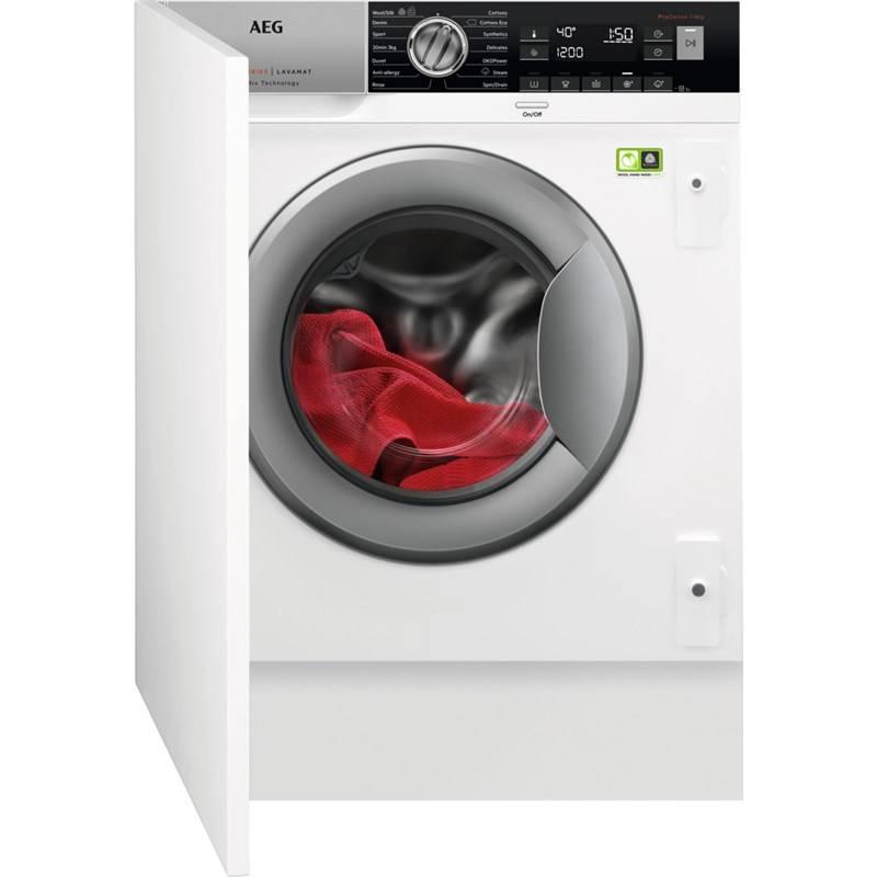 Automatická práčka AEG L8FBE48SI biela + Doprava zadarmo