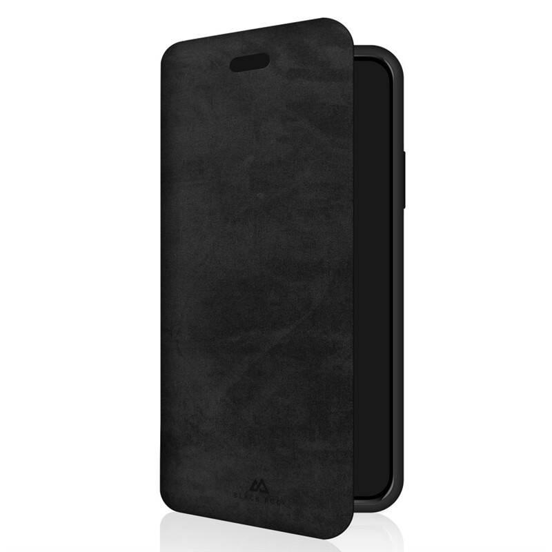 Púzdro na mobil flipové Black Rock The Statement Booklet na Apple iPhone XR (BR1072STM02) čierne